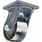 Maxi-Duty Forged 8-1/2x8-1/2 Swivel 10x4 Forged Tapered 18000lb Caster
