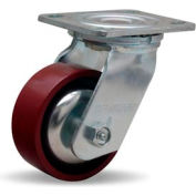 Hamilton® Thread Guard Cold Forged Swivel 4 x 1-1/2 Metal Roller 550 Lb. Caster