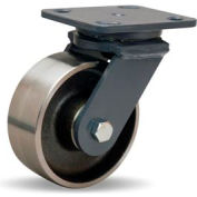 Workhorse Forged 4x5 Swivel 5x2 Forged Roller 1500lb Caster
