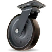 Hamilton® Workhorse Forged Swivel 8 x 2 Duralast™ XC Ball 1950 Lb. Caster