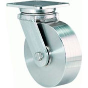 WH Stainless4x5 Swivel 6x2 Precision Ball 1200lb Caster