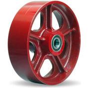 """Metal Wheel 10x2-1/2 3/4"""" Ball Bearing"""