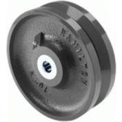 "Hamilton® Forged Steel V-Groove Wheel 10 x 3 - 2-3/16"" Plain Bearing"