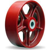 """Metal Wheel 10x3 1"""" Roller Bearing"""
