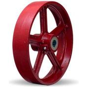 """Metal Wheel 12x2-1/2 1"""" Roller Bearing"""
