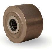 """Metal Wheel 2-1/2x1-1/2 1/2"""" Roller Bearing"""