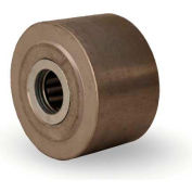 """Metal Wheel 2-1/2x1-1/2 3/4"""" Roller Bearing"""