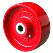 """Metal Wheel 3x1-1/4 1/2"""" Plain Bearing"""