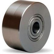 "Stainless Steel Wheel 3x1-3/8 1/2"" Ball Bearing"