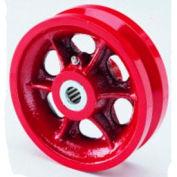 """V-Groove Wheel 6x2 1/2"""" Roller Bearing"""