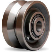 "V-Groove Wheel 6x3 1-1/4"" Tapered Bearing"