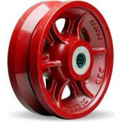 """V-Groove Wheel 8x2-3/4 1"""" Roller Bearing"""