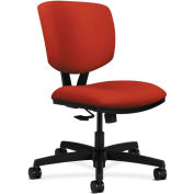 HON® HON5723HCU42T Volt Armless Task Chair, Poppy Polyester
