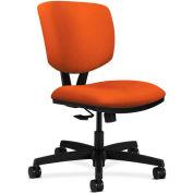 HON® HON5723HCU46T Volt Armless Task Chair, Tangerine Polyester