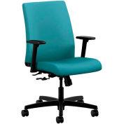 HON® HONIT105CU96 Ignition Adjustable Arm Low-Back Task Chair, Glacier Polyester