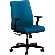 HON® HONIT105NR90 Ignition Adjustable Arm Low-Back Task Chair, Regatta Polyester