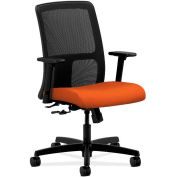 HON® HONIT106CU46 Ignition Adjustable Arm Low-Back Task Chair, Tangerine