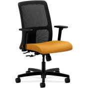HON® HONIT106NR26 Ignition Adjustable Arm Low-Back Task Chair, Mustard