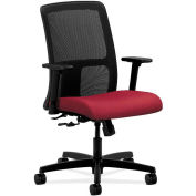 HON® HONIT106NR60 Ignition Adjustable Arm Low-Back Task Chair, Mulberry