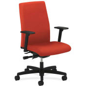HON® HONIW104CU42 Ignition Adjustable Arm Mid-Back Task Chair, Poppy Polyester