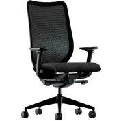 HON® HONN103AB10 Nucleus Adjustable Arm Task Chair, Black