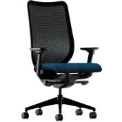 HON® HONN103AB90 Nucleus Adjustable Arm Task Chair, Blue