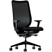 HON® HONN103CU10 Nucleus Adjustable Arm Task Chair, Black