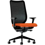 HON® HONN103CU46 Nucleus Adjustable Arm Task Chair, Tangerine
