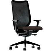 HON® HONN103CU49 Nucleus Adjustable Arm Task Chair, Espresso