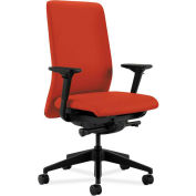 HON® HONN104CU42 Nucleus Adjustable Arm Task Chair, Poppy Polyester