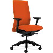 HON® HONN104CU46 Nucleus Adjustable Arm Task Chair, Tangerine Polyester