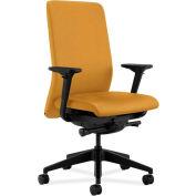 HON® HONN104NR26 Nucleus Adjustable Arm Task Chair, Mustard Polyester