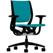 HON® HONRW101ONCU96 Purpose Adjustable Arm Mid-Back Task Chair, Glacier Polyester