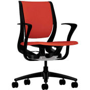 HON® HONRW102ONCU42 Purpose Fixed Arm Mid-Back Task Chair, Poppy Polyester