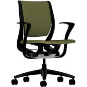 HON® HONRW102ONCU82 Purpose Fixed Arm Mid-Back Task Chair, Olivine Polyester
