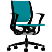 HON® HONRW102ONCU96 Purpose Fixed Arm Mid-Back Task Chair, Glacier Polyester