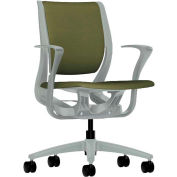 HON® HONRW102PTCU82 Purpose Fixed Arm Mid-Back Task Chair, Olivine Polyester