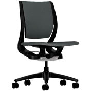 HON® HONRW103ONCU19 Purpose Armless Mid-Back Task Chair, Iron Ore Polyester