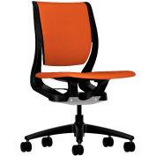 HON® HONRW103ONCU46 Purpose Armless Mid-Back Task Chair, Tangerine Polyester
