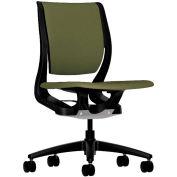 HON® HONRW103ONCU82 Purpose Armless Mid-Back Task Chair, Olivine Polyester