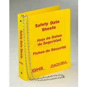 "Horizon Mfg. Tri Lingual Three Ring SDS Binder, 3008, 1-1/2""W"