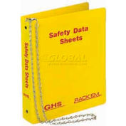 "Horizon Mfg. English Three Ring SDS Binder, 3013, 3""W"