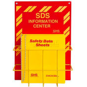 "Horizon Mfg. English SDS Binder and Safety Station, 3016, 1-1/2""W"