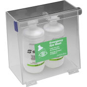"Horizon Mfg. Double Bottle Eyewash Station, 5182, 5-1/2""L X 10""W X 10""H"