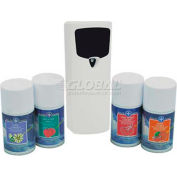 Health Gards® Metered Aerosol Air Fresheners Kit, 4 Scents, 1 Dispenser, 079KIT