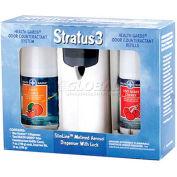 Health Gards® Metered Aerosol Air Fresheners Kit, 2 Scents, 1 Dispenser, 079SK