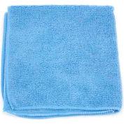 """Microworks Microfiber Towel 12"""" x 12"""" 220GSM, Blue 12 Towels/Pack - 2501-B-DZ"""