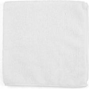 "Microworks Microfiber Towel 16"" x 16"" 220GSM, White 12 Towels/Pack - 2511-W-DZ"