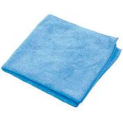"""Microworks Microfiber Towel 12"""" x 12"""", Blue 12 Towels/Pack - 2512-B-DZ"""