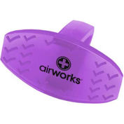 AirWorks® Bowl Clip, Vineyard, 12/Box, AWBC234-BX
